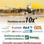 Passagens Aéreas – Nacionais e Internacionais