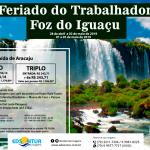 Feriado do Trabalhador – Foz do Iguaçu
