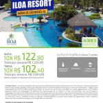 Iloa Resort na Proclamação da República em Barra de São Miguel - AL