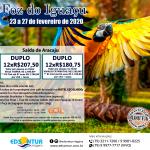 Foz do Iguaçu de 23 a 28 de fevereiro de 2020