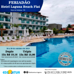 Feriadão Hotel Laguna Beach Flat - Porto de Galinha - PE