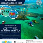 Feriadão Manawa Beach Flat