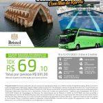 Excursão Rodoviária para Delmiro Gouveia com Ilha de Rarrá