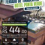 Feriado de Tiradentes Hotel Ponta Verde - Praia do Francês