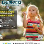 Dia das Crianças Hotel Dunen - 10 a 12 de Outubro 2020