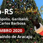 Natal Luz de Gramado – RS 02 A 07 de Dezembro 2020