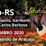 Natal Luz de Gramado – RS 07 A 12 de Dezembro 2020