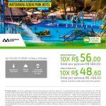 Feriadão em Maceió - Matsubara Acqua Park Hotel - AL