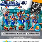 Carnaval Hotel Ramada Suítes - Recife-PE