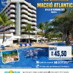Pós Carnaval - Maceió Atlantic - 19 a 21 de fevereiro 2021