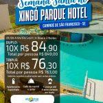 Semana Santa no Xingó Parque Hotel