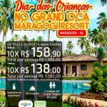 Dia das Crianças no Grand Oca Maragogi Resort em Maragogi-AL