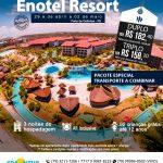 Feriado do Trabalhador em Enotel Resort 29 de Abril a 02 de Maio