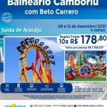 Balneário Camboriú com Beto Carrero - 08 a 12 de dezembro 2021