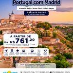 Portugal com Madrid - Cáceres - Évora - Lisboa - Fátima